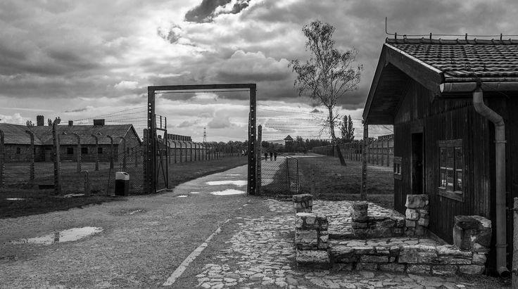The gate to the BI sector of Birkenau.    by carlosnubenegra Flickr