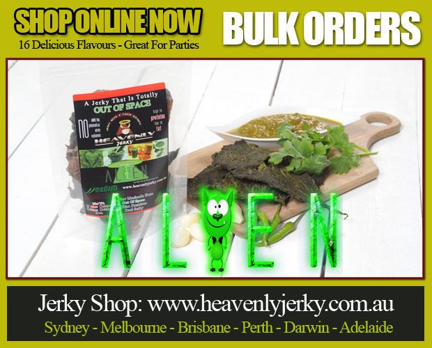 Canberra Heavenly Beef Jerky