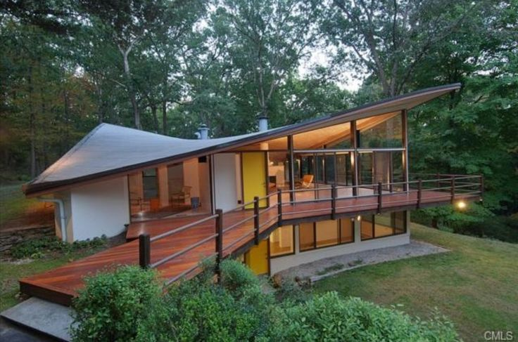 Bucket list item: Live in the middle of the forest — check! #Architecture
