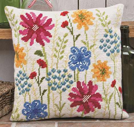 Essence Tapestry Kit Cushion Front | sewandso