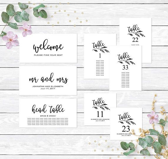 12 best Seating Chart Templates images on Pinterest Wedding - seating chart templates