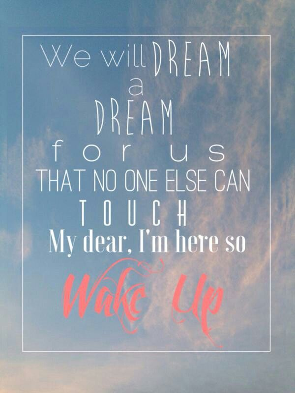 Wake Up Lyrics Ahhhhhhhhh so excited to hear wake up - the Vamps new song