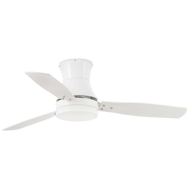 Ventilador de techo blanco con luz Tonsay 33384 de Faro [33384] - 180,65€ :