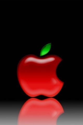 Red Apple Android Wallpaper Cool Logo Apple Wallpaper Iphone
