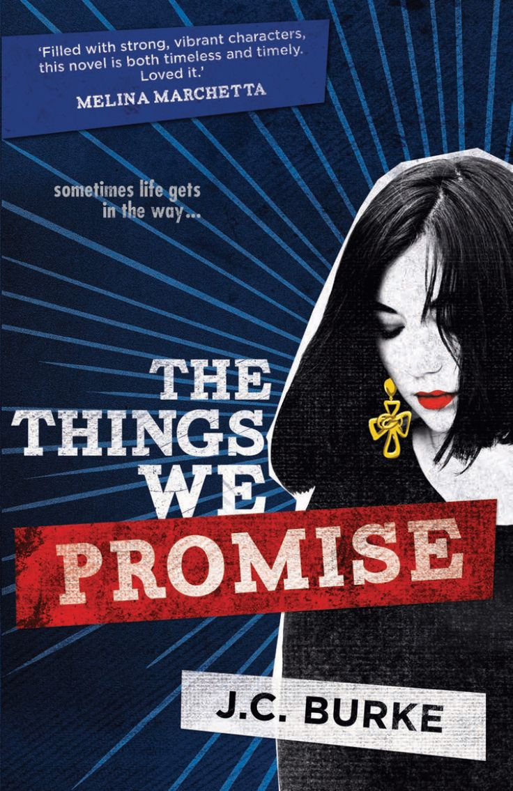 LoveOzYA Book Review: The Things We Promise by J. C. Burke is the heartbreaking story of an Australian family dealing with the reality of AIDS at a time when the disease was shrouded in stigma and poorly understood.