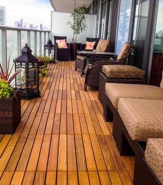 Toronto Condo Balcony Design Ideas, Pictures, Remodel and Decor