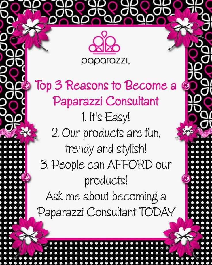 Reasons to become a paparazzi consultant paparazzi for Paparazzi jewelry find a consultant