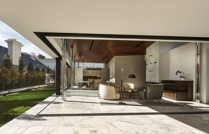 Moderner Bodenbelag für Terrasse und Wohnzimmer