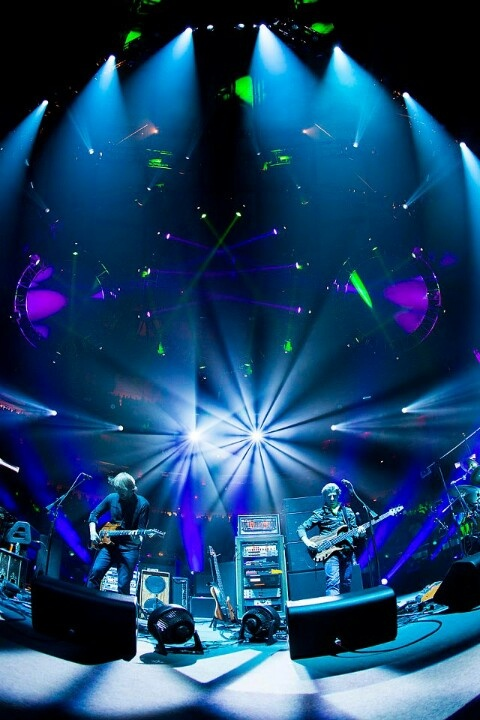 Phish - went to my first concert in Denver 8/31/2014  Awesome!