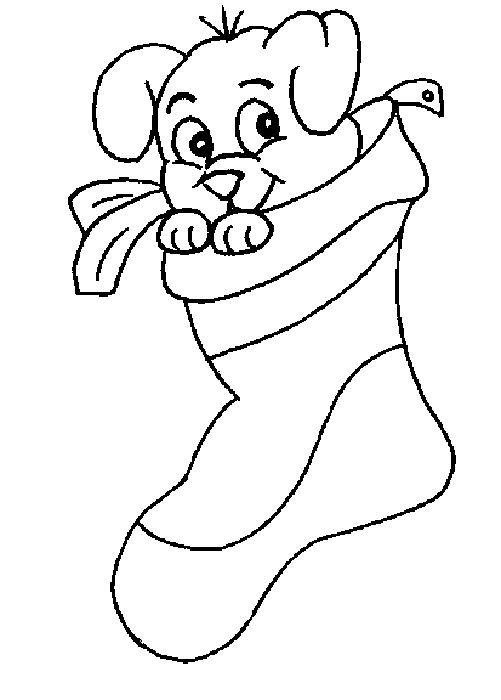 pre k christmas coloring pages - photo#10