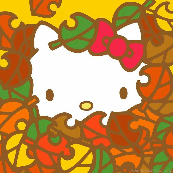 hello kitty fall wallpaper - photo #13