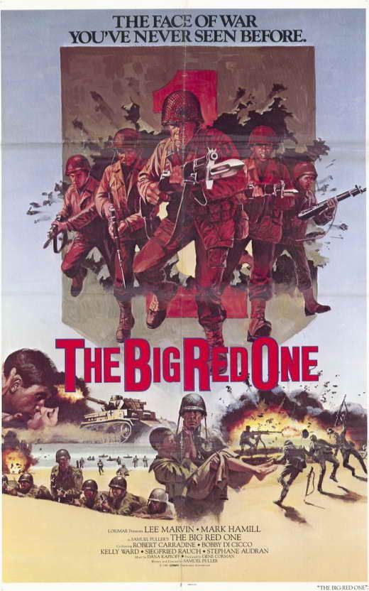 The Big Red One (1980) The Big Red One, named for the insignia of the First Infantry Division, is the unsparing World War II saga of a handful of Gis battling their way from north Africa through Sicil