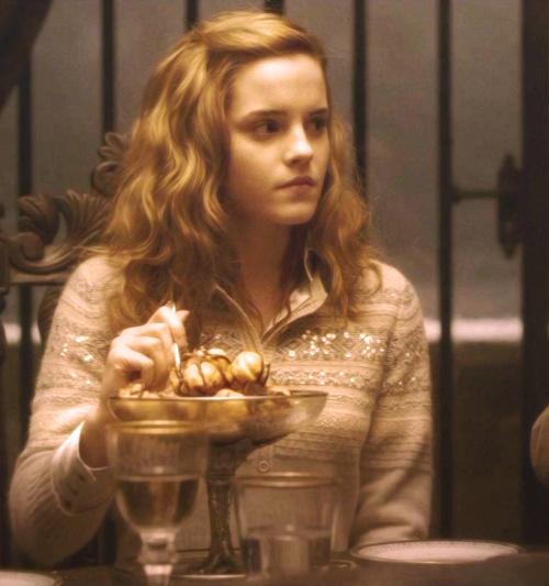 hirthick roshan krish movie hair style : Hermione Granger ~ At Slughorns ~ Harry Potter and the Half Blood ...
