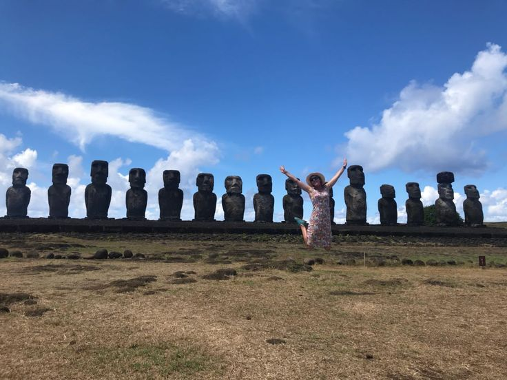 Happy Easter Holiday from Easter Island! :D