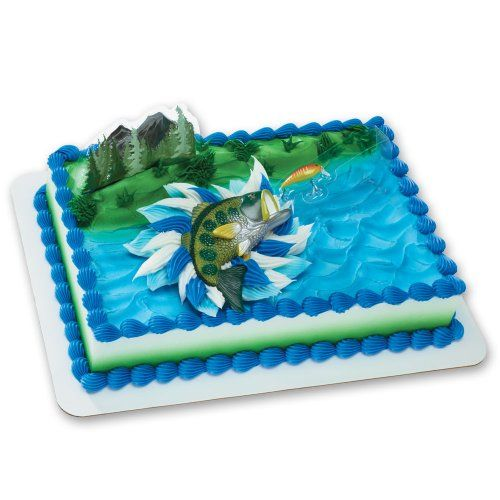 Catching the Big One DecoSet Cake Decoration *** Startling big discounts available here : baking desserts recipes