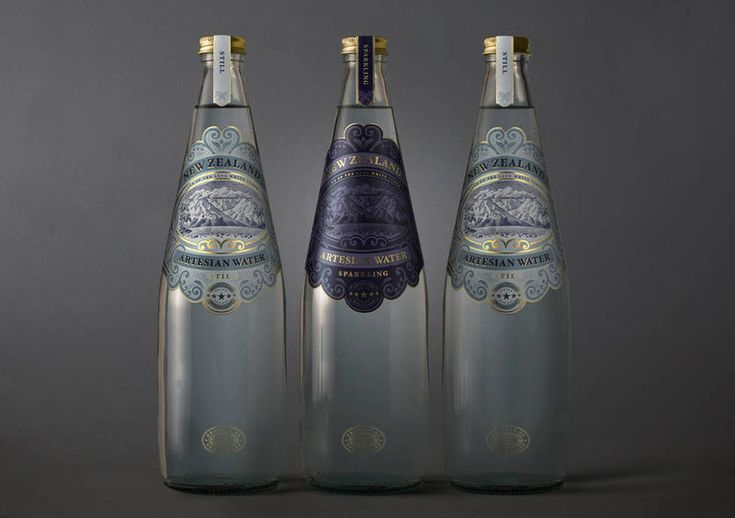 New Zealand Artesian Luxury Water Bottles Are Stamped with Opulence #lifestyle #ideas trendhunter.com