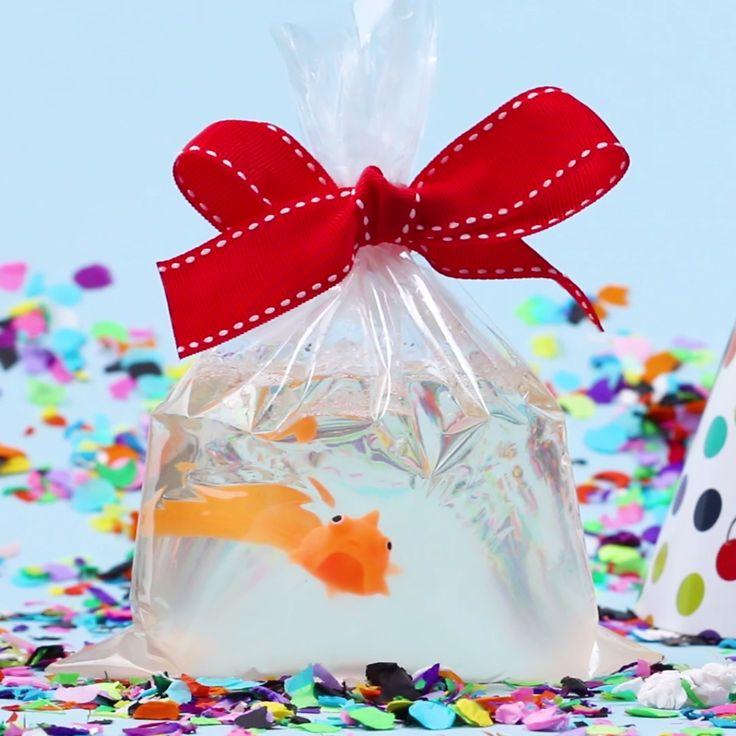 DIY Fish Soap Party Favor