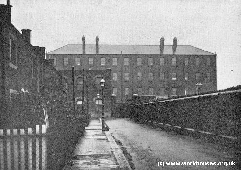 Poplar workhouse, c.1902