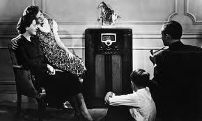 Source: Photograph of a family being entertained by listening to the radio. The radio was a huge form of entertainment in the 1930s. It was what most families would do together. It gave people news updates and weather updates.