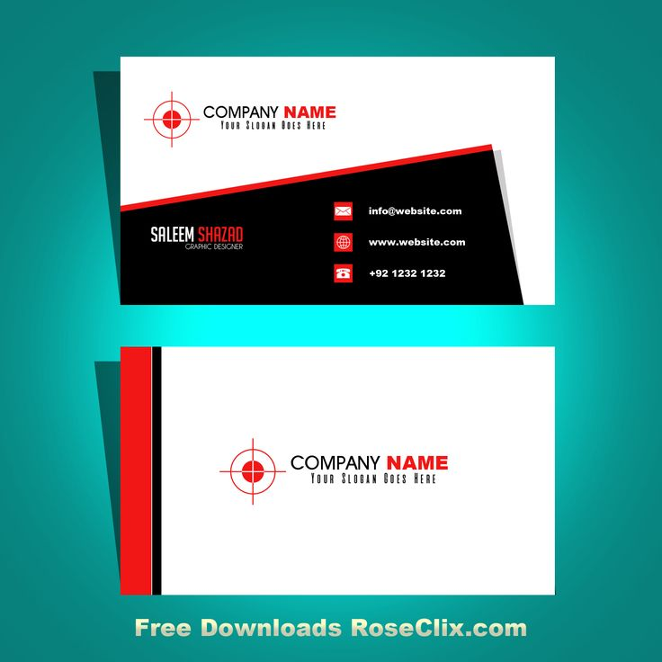 Best Business Card Template Free Downloads PSD Fils Images On - Free business card template