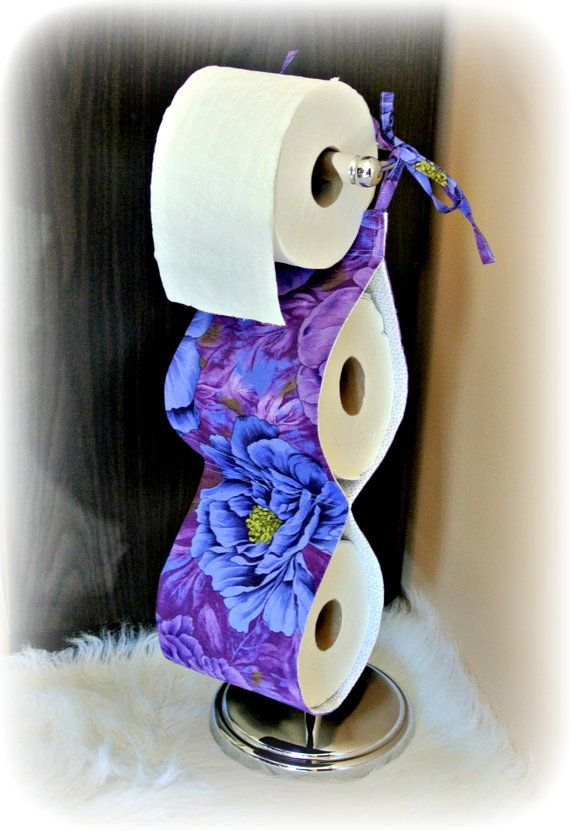 17 best images about bathroom on pinterest flower shower for Purple toilet accessories