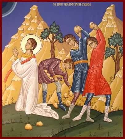 St Stephen Martyr icon