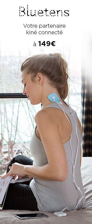 Electro-stimulateur connecté avec 3 modes : musculation, relaxation, soin