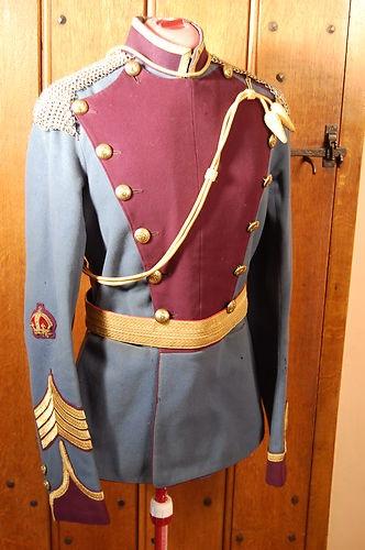City of London Rough Riders Regt Quartermaster Sgt Tunic -- cavalry