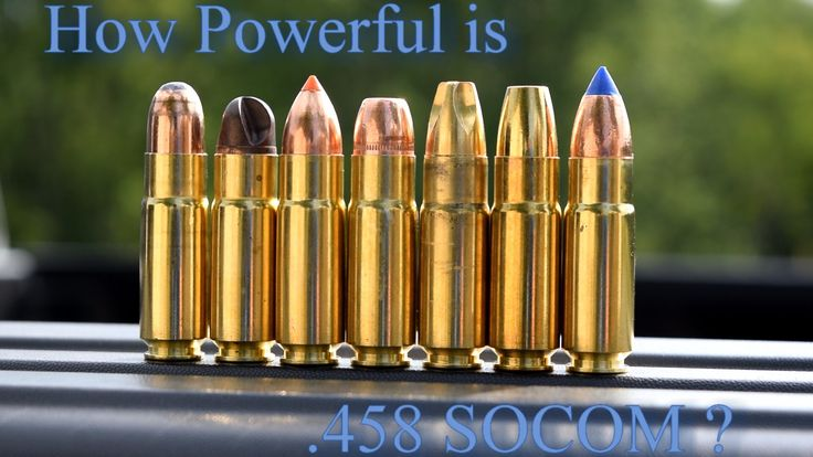 How Powerful is  458 SOCOM ?                                                                                                                                                                                 More