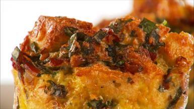 Gruyere spinach bakes