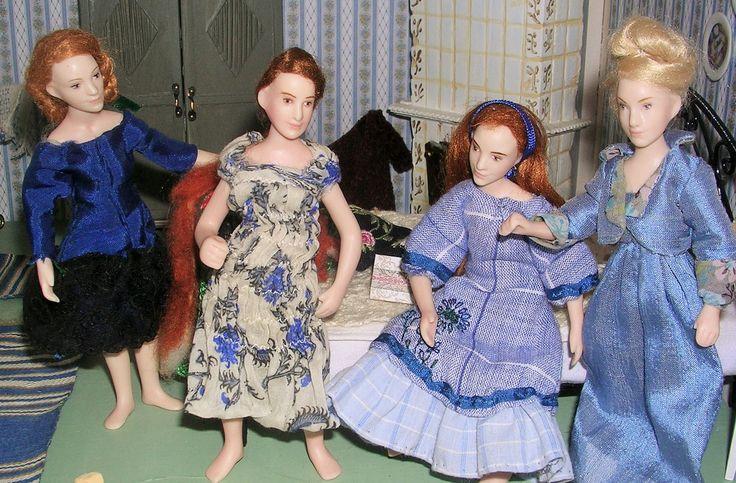 Doll by Taru Astikainen, styling by Anne, Malakoffit - Aksenjan tyttären tyttäret