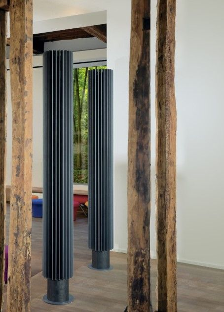 Design radiator - Verticale design radiator - jaga iguana circo vrijstaand