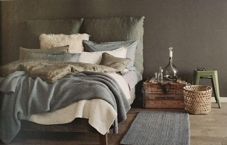 Colori minerali per biancheria da letto, plaid e non solo