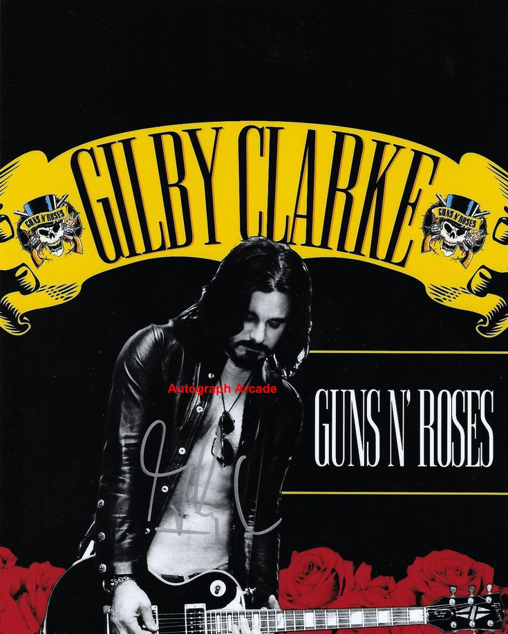 Excited to share the latest addition to my #etsy shop: GILBY CLARKE Guns N' Roses Signed Original Autographed Photo COA 8x10 #2