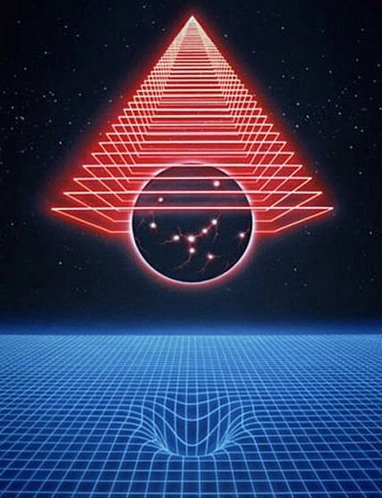 194 best retro 80s design images on pinterest - Space 80s wallpaper ...
