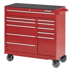 "41"""""""" Red 11-Drawer Tool Cabinet"