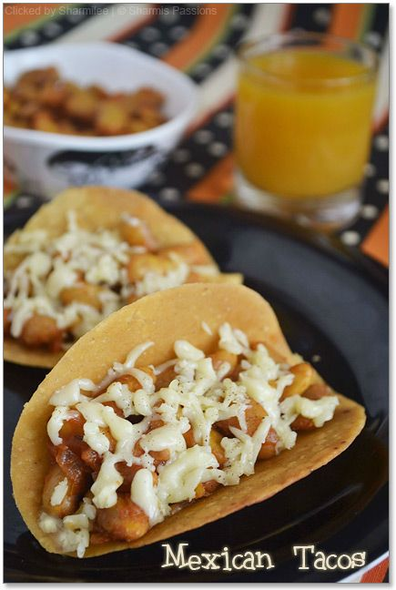Mexican Tacos with Kidney Bean Salsa Recipe