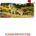 Summer Wolf Mailbox Cover