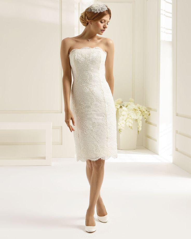 55 best Brautkleider images on Pinterest | Bridal dresses, Short ...