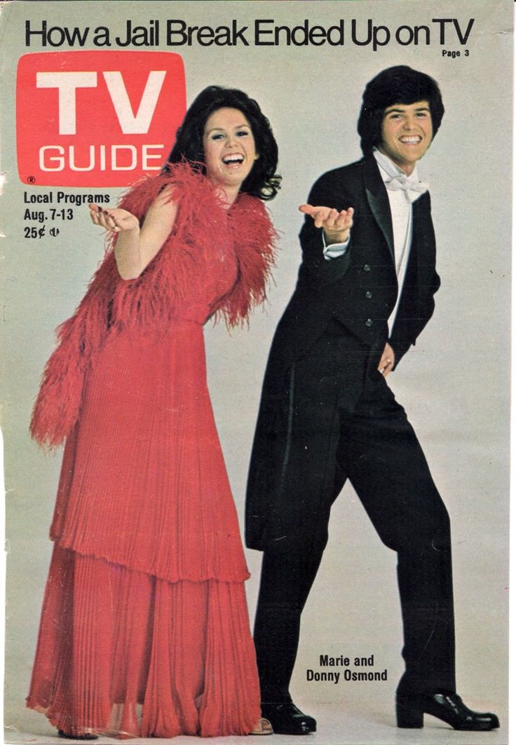 Donny & Marie TV Show | Donny & Marie Osmond: Tvguid, Donnie Mary, Remember, Guide Covers, T V ...
