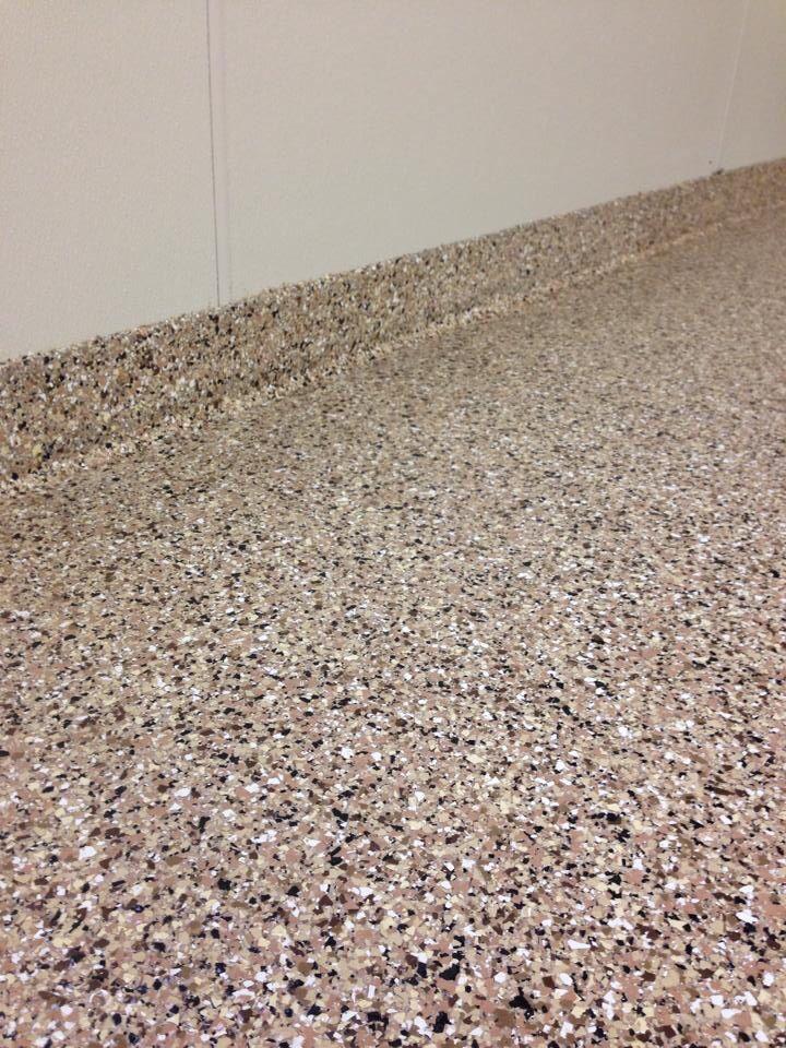 Epoxy chip garage floor installed by re deck of northwest for Northwest flooring