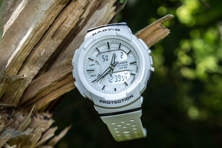 BGA-240-7AER — и спорт и просто стильные часы для девушек