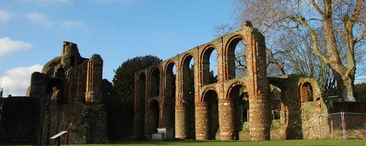 St Botolph's, The remains of one of the first Augustinian priories in England.