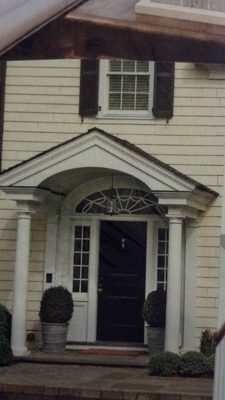 43 best portico images on pinterest exterior design for Portico porch designs