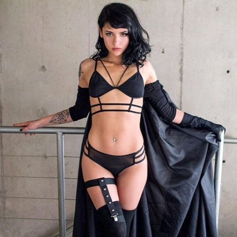 WEBSTA @ onlyness_ - The Dark side awakens 🔜 for @suicidegirls 👯 by my friend 🌈 @aenemona 💁🏻📸 #suicidegirls