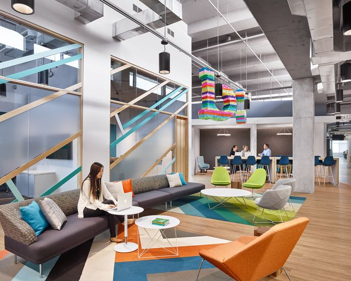 Nios Lounge | Bazaarvoice Headquarters - Austin - Office Snapshots
