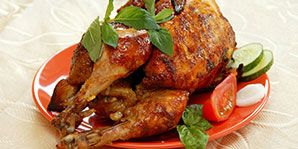 A moist and crispy fried chicken taste without the fat of traditional fried chicken.