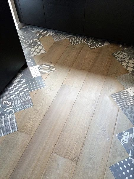 Details pinterest carrelage for Carrelage vs parquet