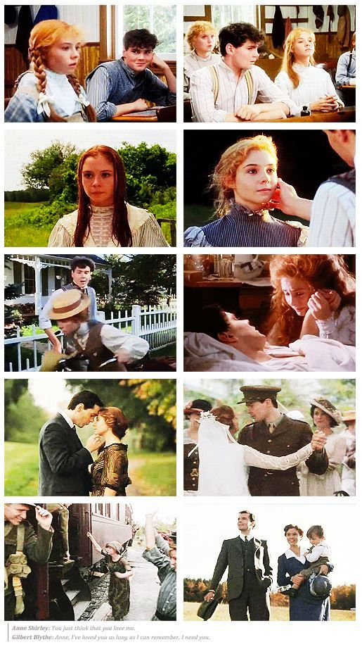 Like so many girls of the late 70s/early 80s Gilbert Blythe was my first romance hero crush. <3 RIP Jonathan Crombie.