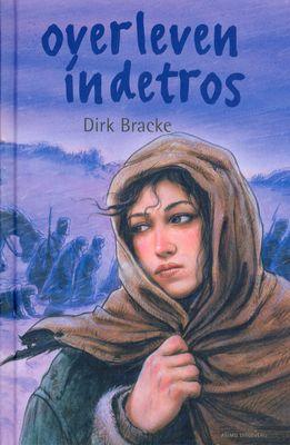 Dit is de omslag van het boek: 'overleven in de tros'. Dit boek beschrijft hoe de vrouwen, die mee liepen met het Franse leger, de oorlog ervoeren.
